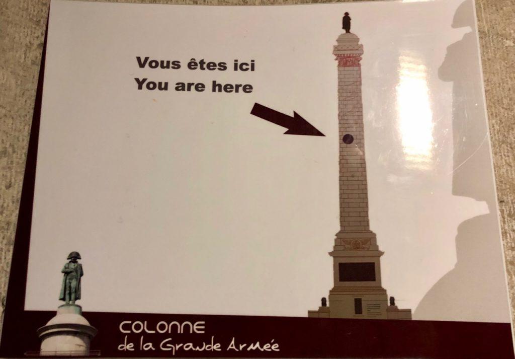 Boulogne-sur-Mer-en-plein-air-colonne-Napoleon-dans-la-montee-un