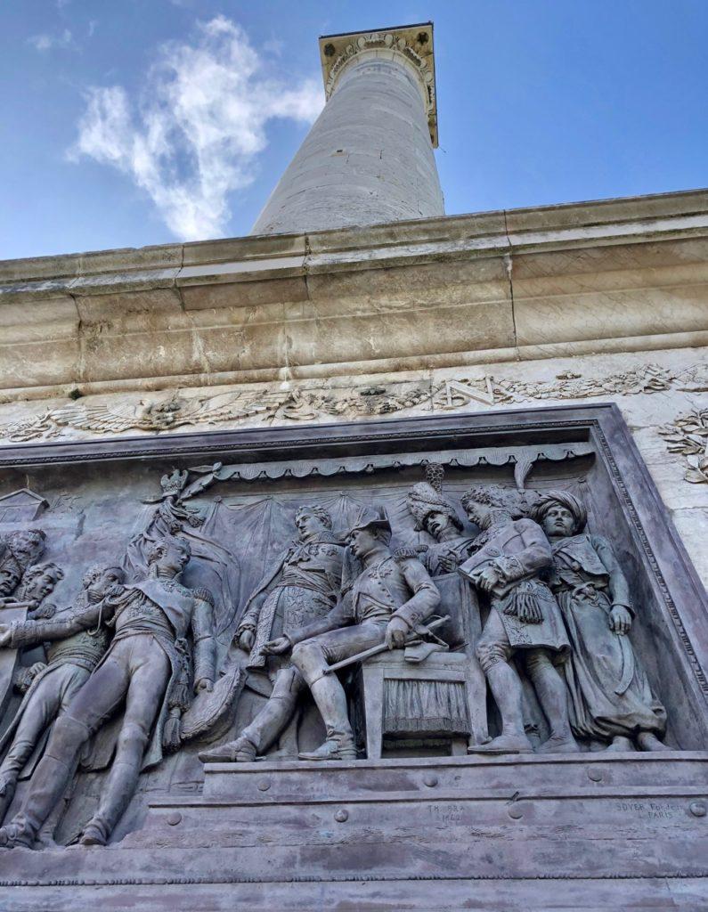 Boulogne-sur-Mer-en-plein-air-colonne-Napoleon-vue-de-tres-pres