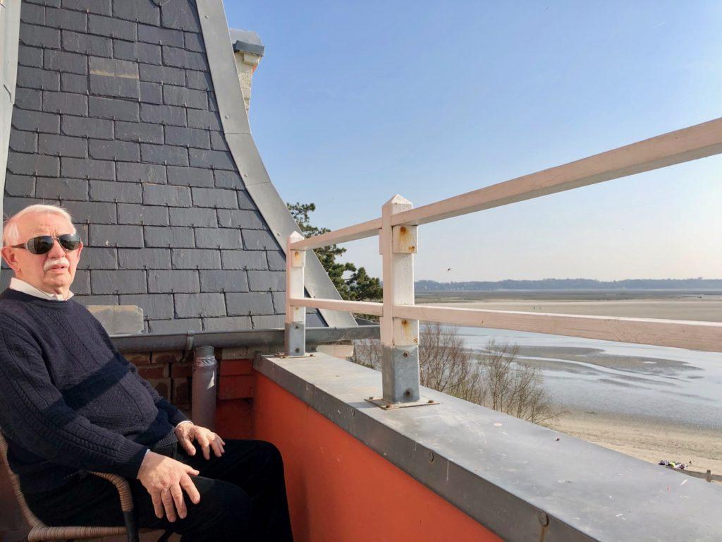 Le-Crotoy-Plage-vue-balcon-hotel-les-tourelles