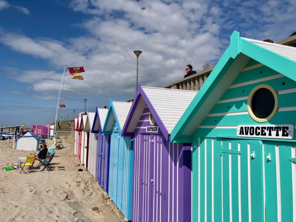 Pas-de-Calais-nos-plages-Stella-plage-cabines-colorees