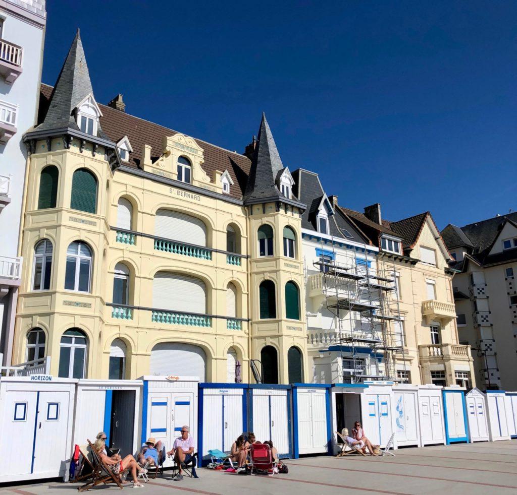 Pas-de-Calais-nos-plages-Wimereux-front-de-mer-Belle-Epoque