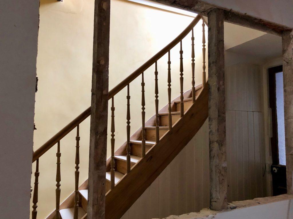 couloir-ouverture-mur-pose-verriere