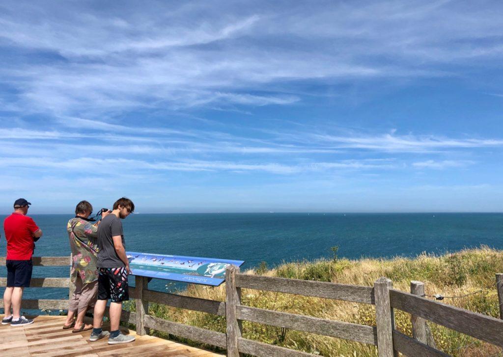 Plages-Pas-de-Calais-falaises-du-Gris-Nez-poste-observation