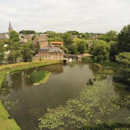 Moulin de Maroilles vu au drone