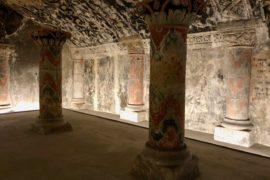 Boulogne-sur-Mer-crypte-basilique-Notre-Dame-salle-murs-peints