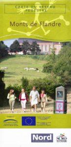Carte-reseau-pedestre-Monts-de-Flandre-Nord