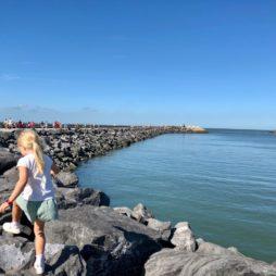Cote belge Ostende promenade