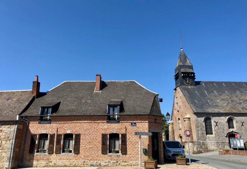 Liessies-vue-village