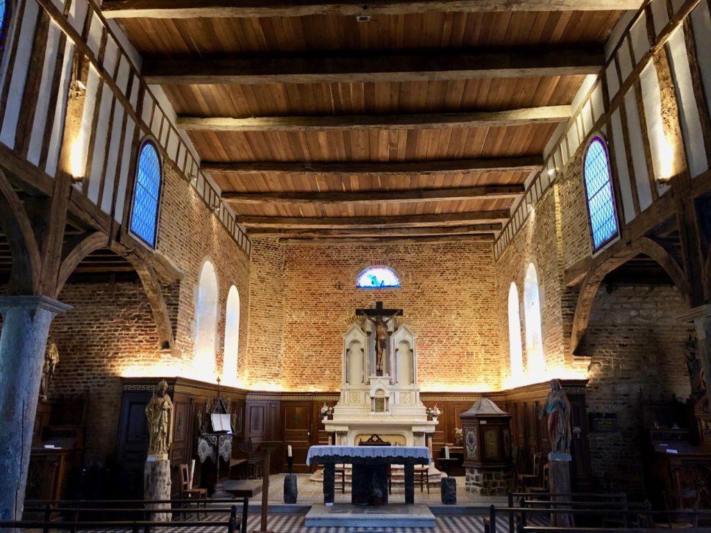 Parfondeval-Aisne-eglise-saint-medard-interieur