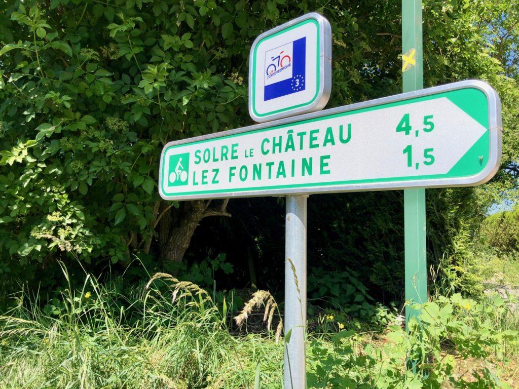Voie-verte-de-l-Avesnois-panneau-directionnel