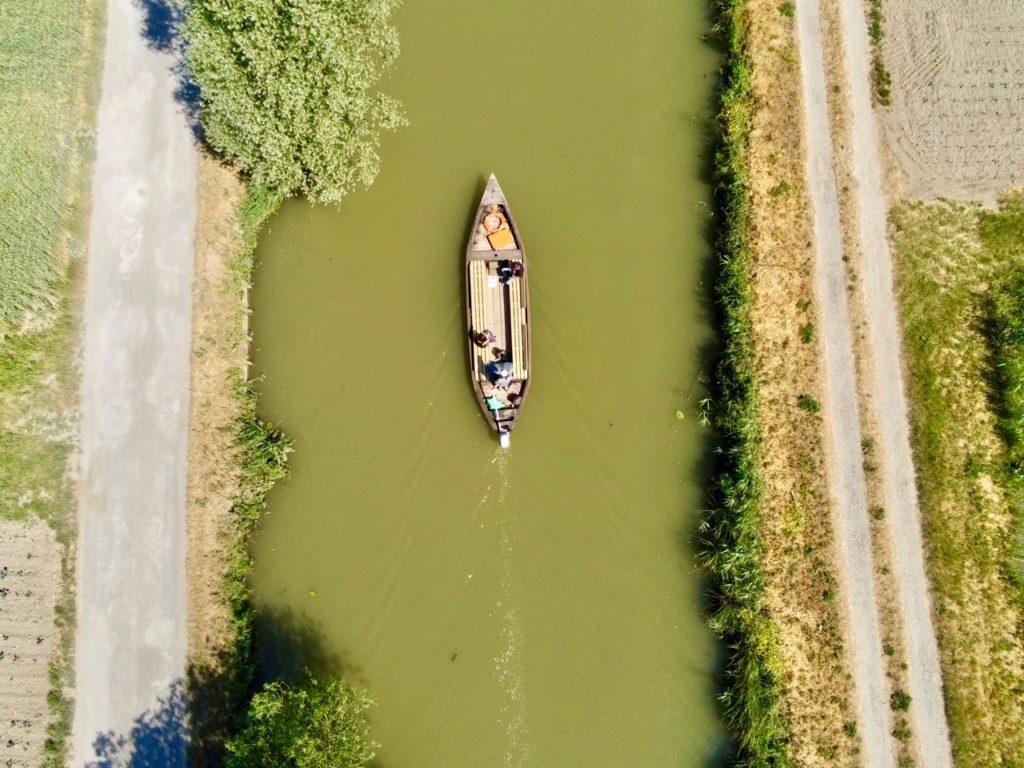 Marais Saint-Omer vu au drone