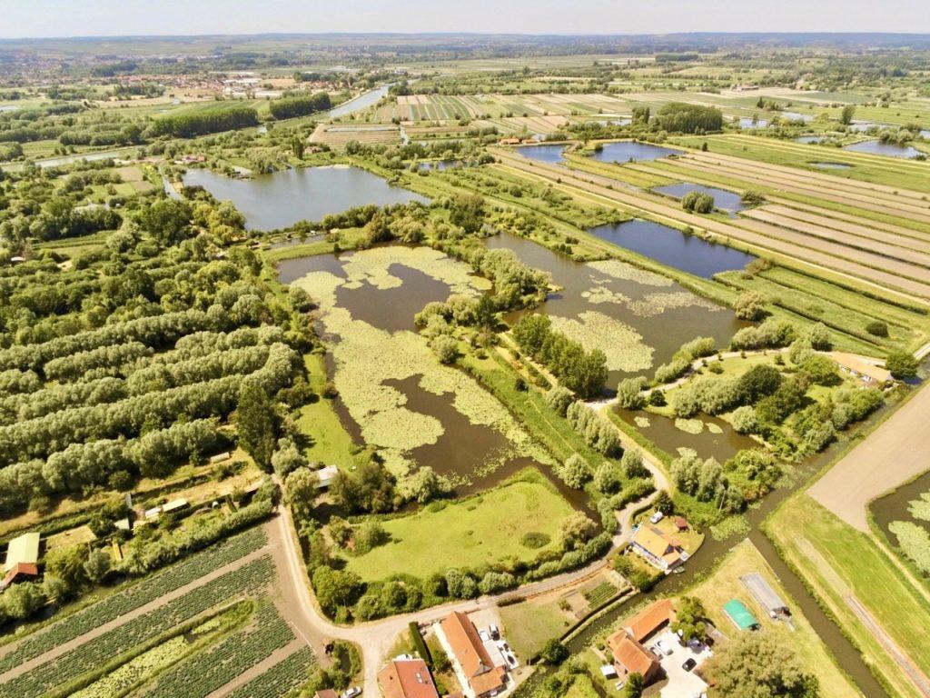 Marais Clairmarais vu au drone