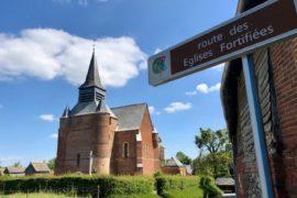 Eglises fortifiées Thierache Burelles