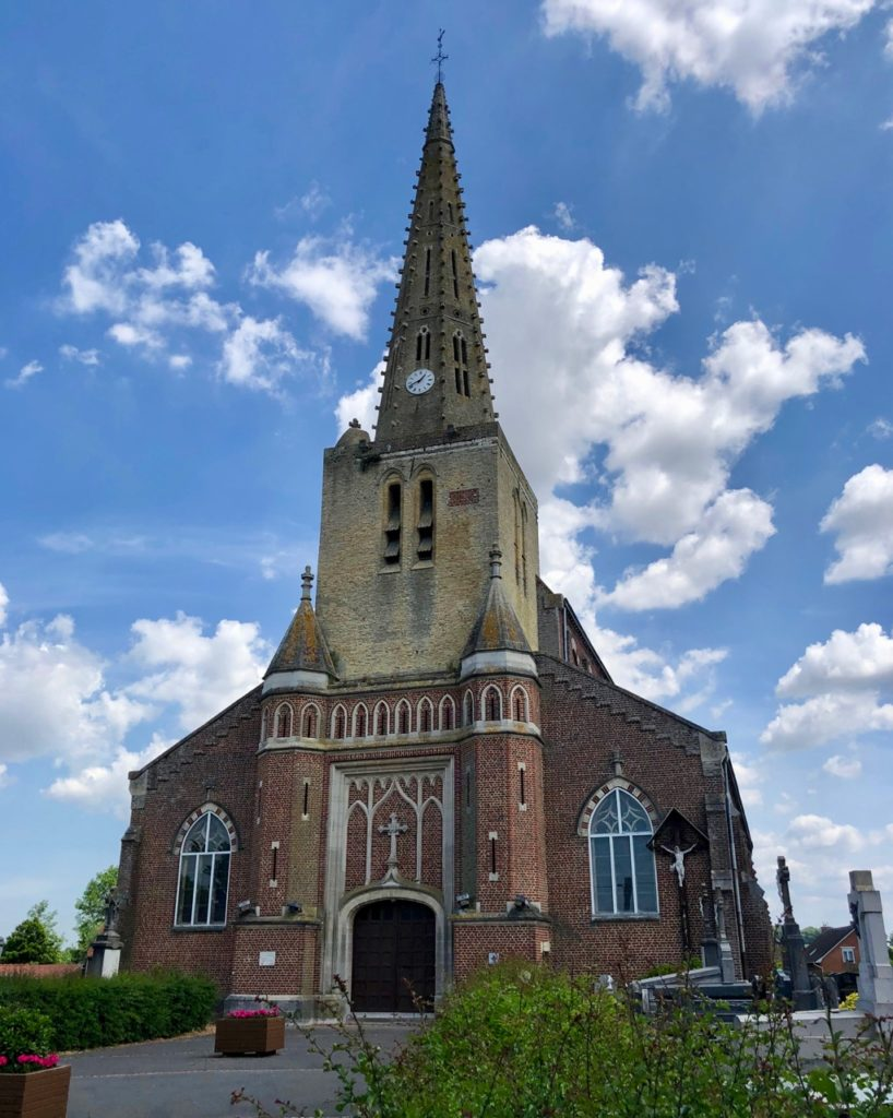 Village Patrimoine Noordpeene-Flandre-eglise