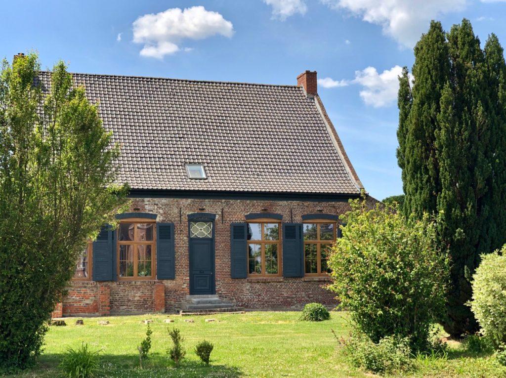Village Patrimoine Noordpeene-Flandre-jolie-maison