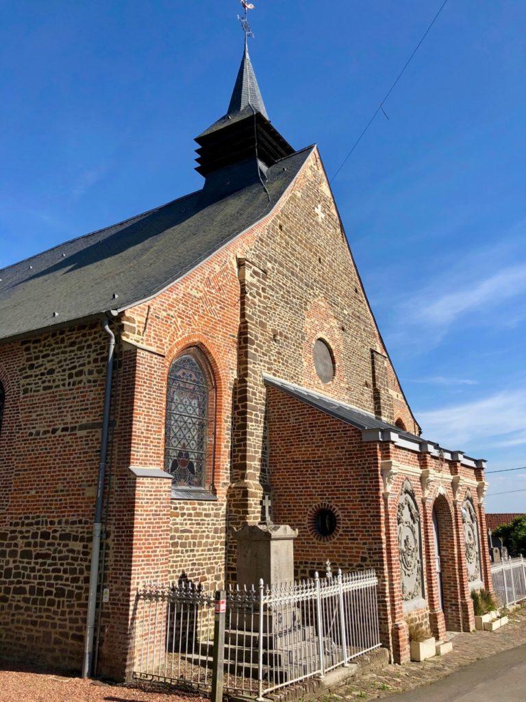 Village Patrimoine Oxelaere-Flandre-arriere-eglise