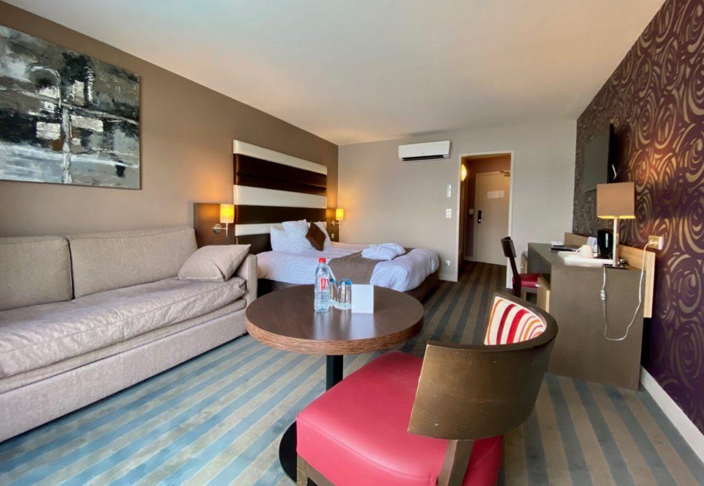 Hôtel du Golf de l'Ailette chambre Elegance bis