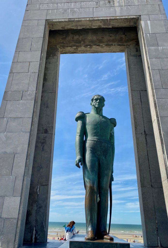 La-Panne-Belgique-monument-Leopold