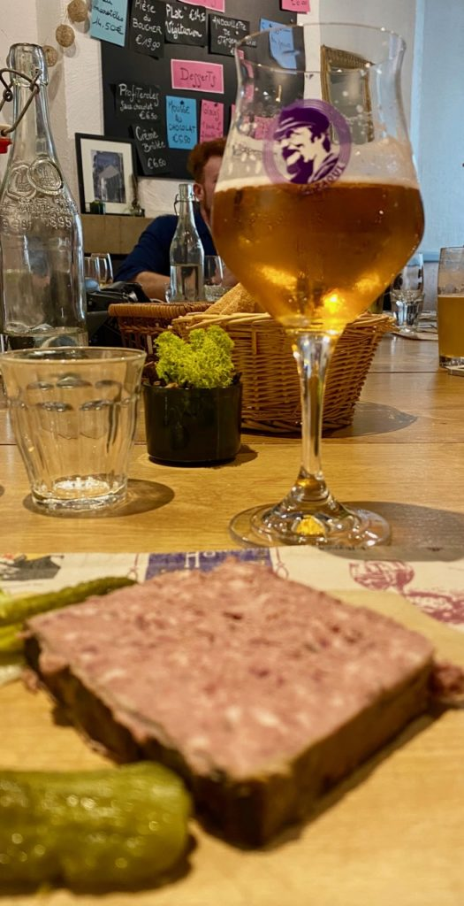 Laon estaminet Saint-Jean terrine et bière