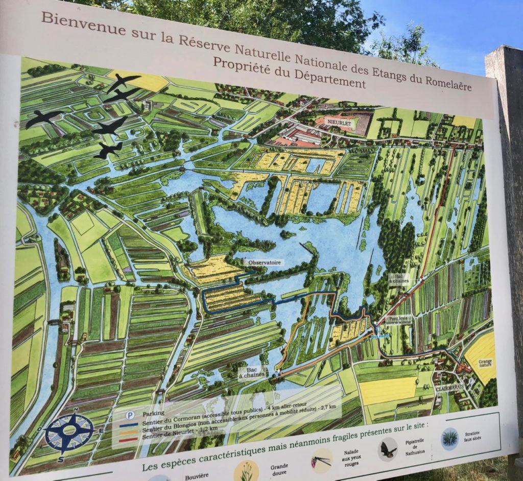 Marais-audomarois-Isnor-marais-du-romelaere-panneau