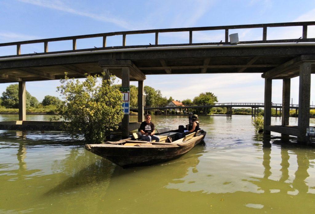 Marais audomarois Isnor pont