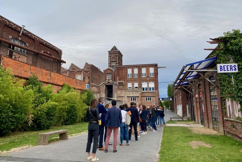 Saint-André Brique House queue entrée