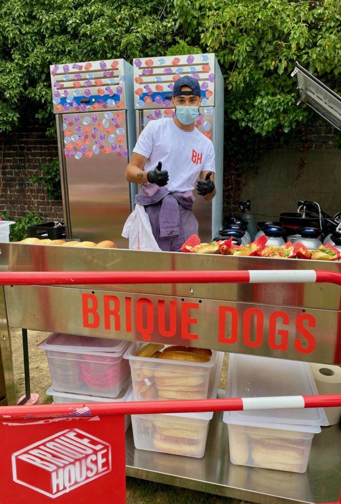 Saint-André Brique House stand hot-dogs