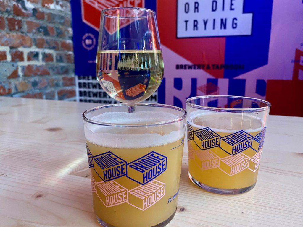 Saint-André Brique House verres bière