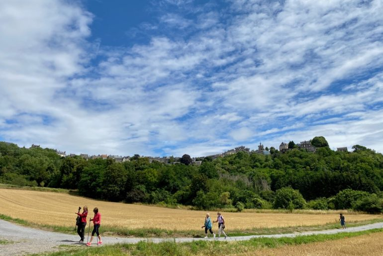 Semaine Z'Aisne marche nordique vue large