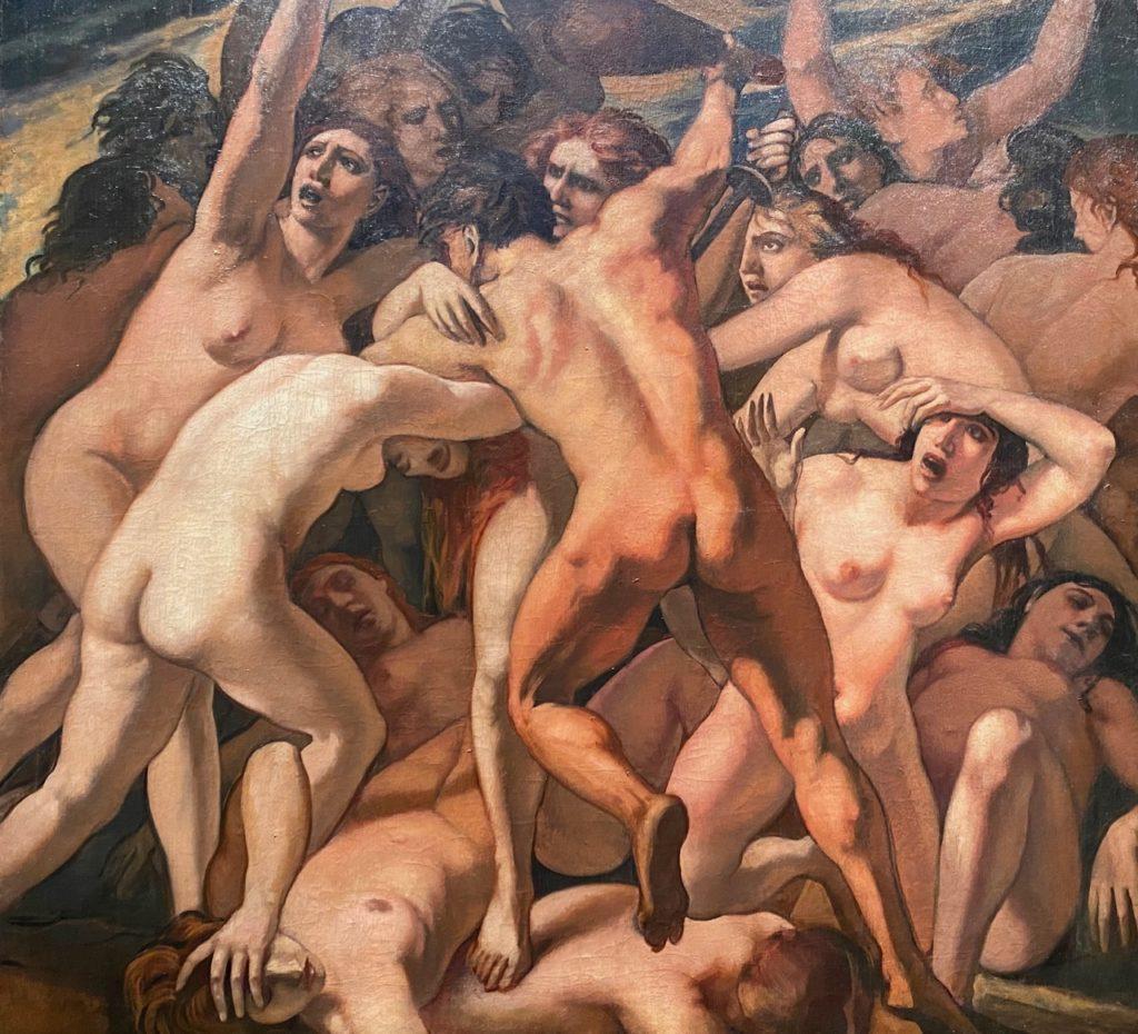 Amiens-musee-de-Picardie-La-lutte-de-l-homme-contre-la-femme-Emile-Bernard