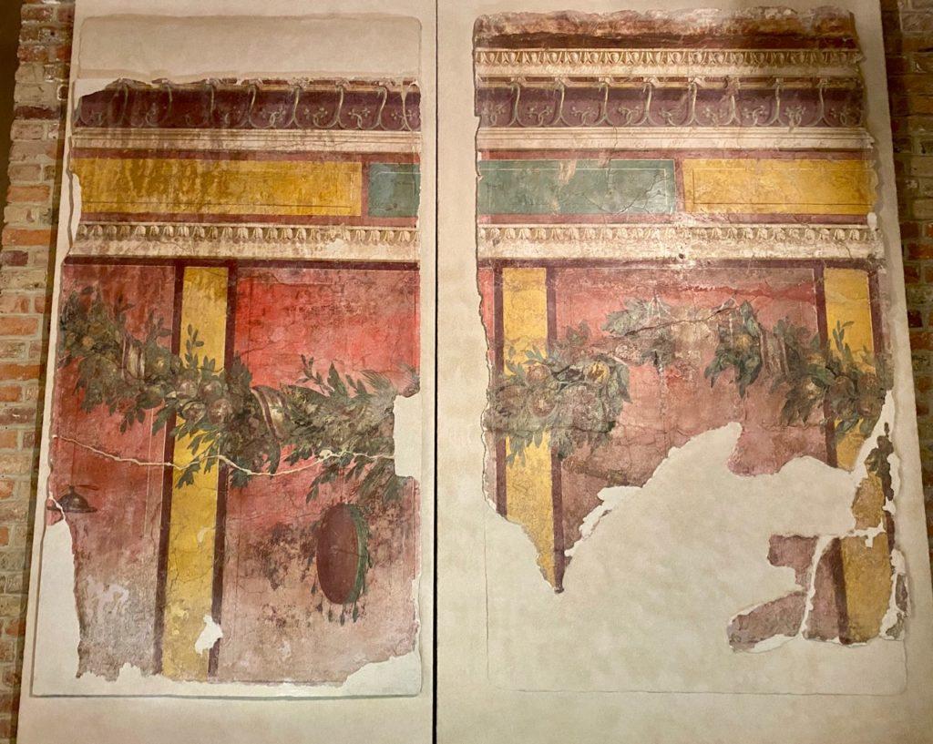 Amiens-musee-de-Picardie-peintures-murales-de-Boscoreale