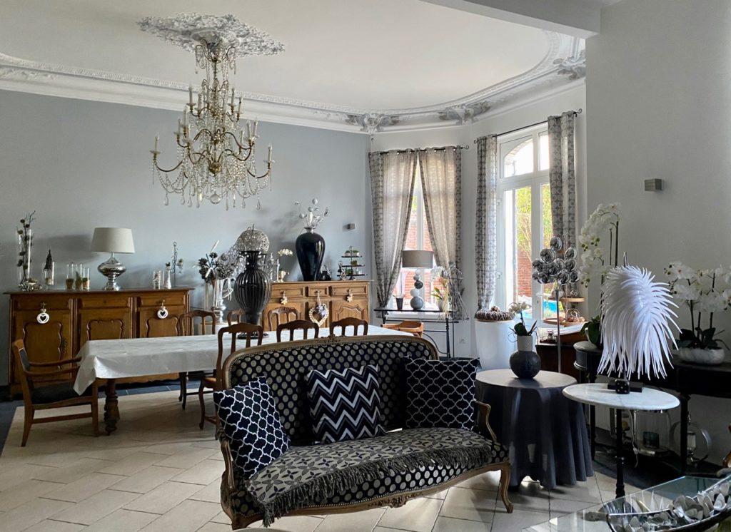 Maison d'hotes-Le-Carre-des-Arts-Le-Cateau-salon