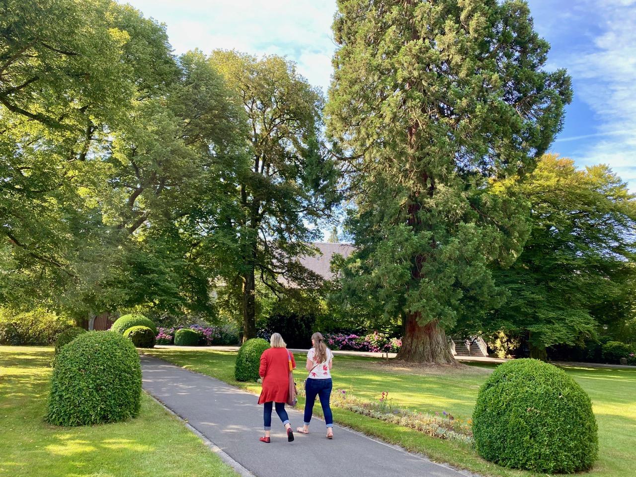 Pays-des-Lacs-abbaye-de-Scourmont-jardin