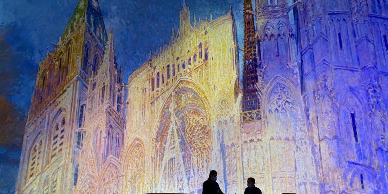 À Rouen, Claude Monet n'est jamais très loin…