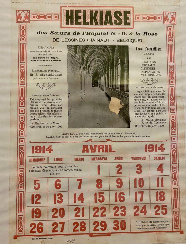 Hopital-Notre-Dame-a-la-Rose-Lessines-affiche-helkiase