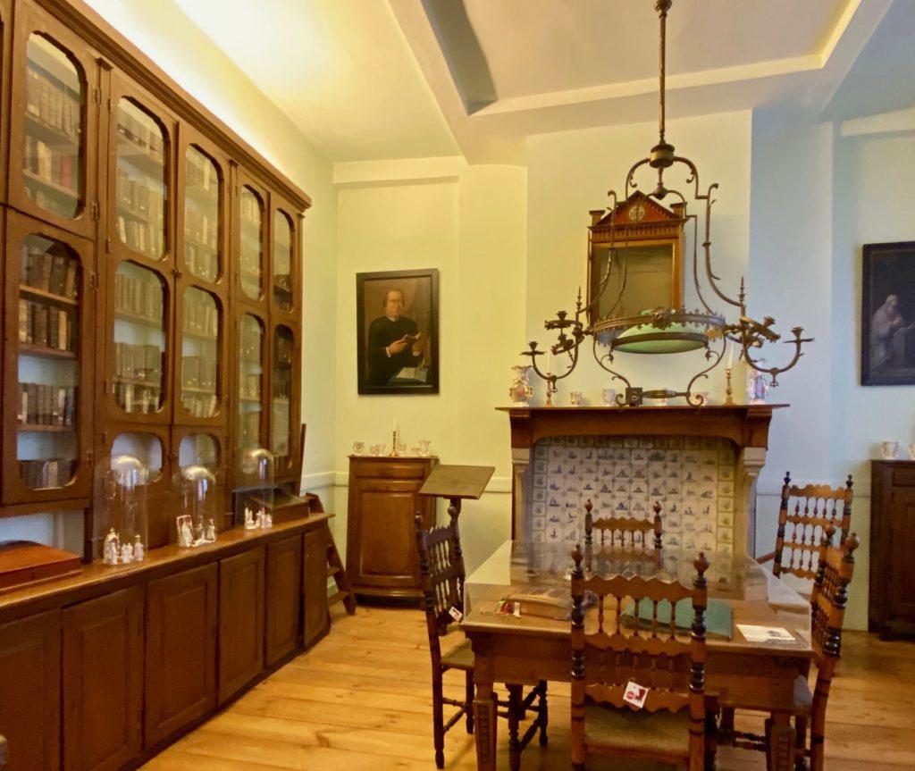Hopital-Notre-Dame-a-la-Rose-Lessines-bibliotheque