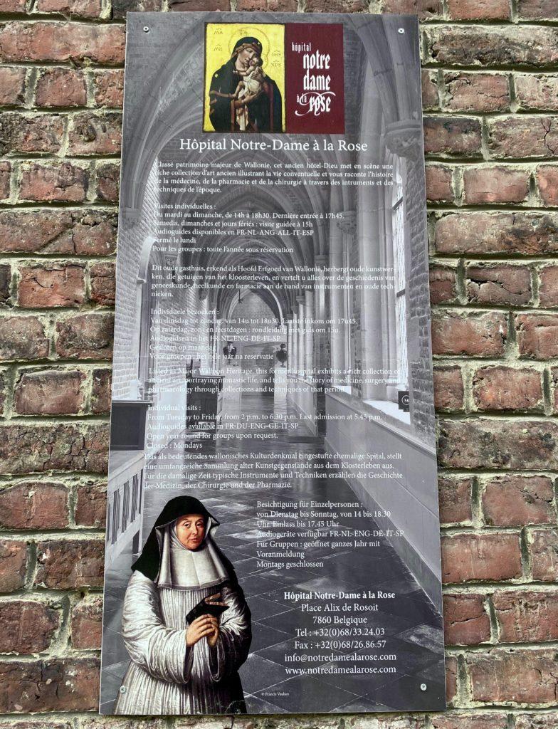 Hopital-Notre-Dame-a-la-Rose-Lessines-panneau