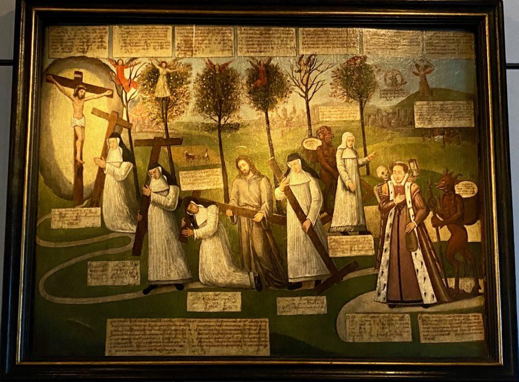 Hopital-Notre-Dame-a-la-Rose-Lessines-tableau-crucifixion