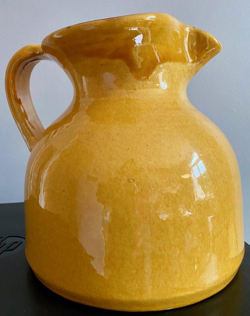 Cruche-jaune