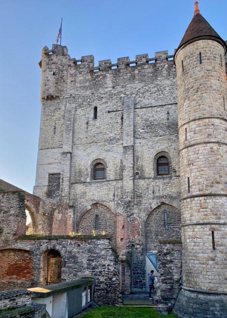 Gand-chateau-des-Comtes-donjon