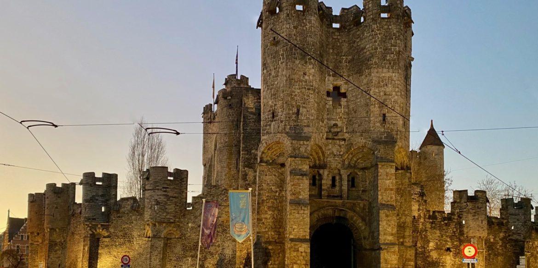 Le château des Comtes à Gand mais quelle histoire