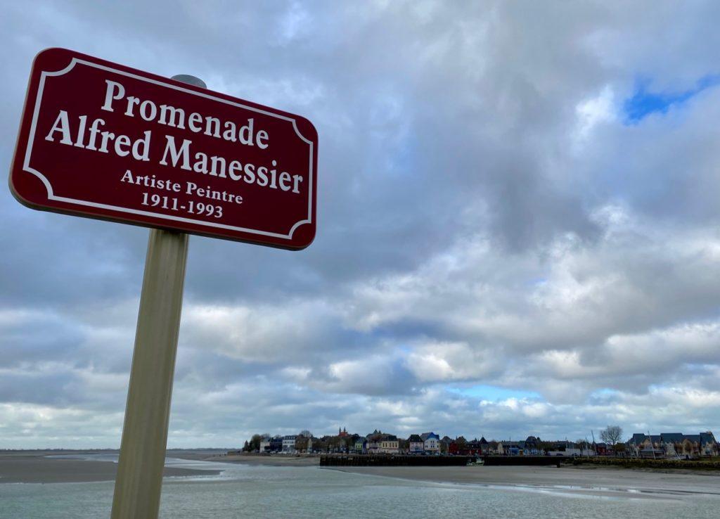 Le-Crotoy-promenade-Alfred-Manessier-panneau