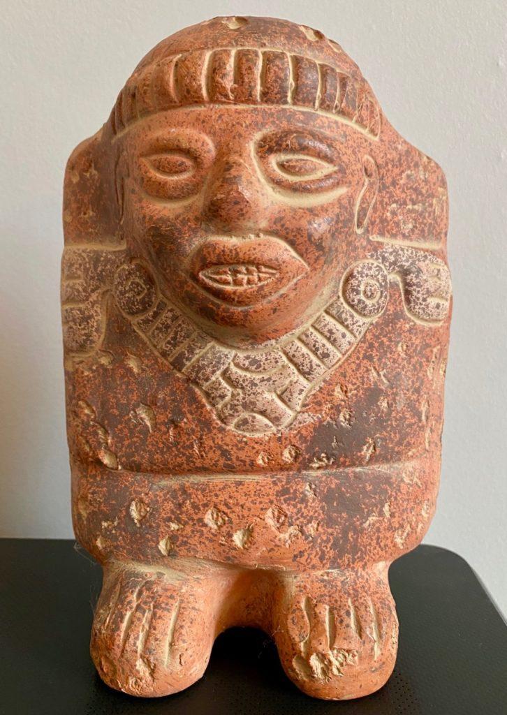 Statue-azteque