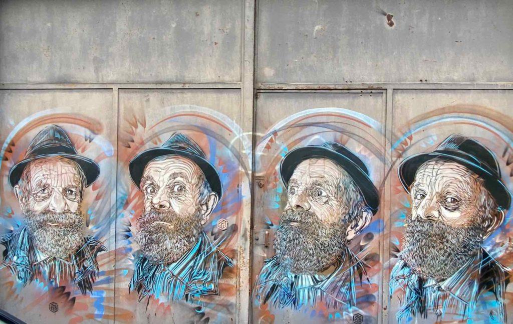 Street-art-a-roubaix-C215-hommes-chapeaux