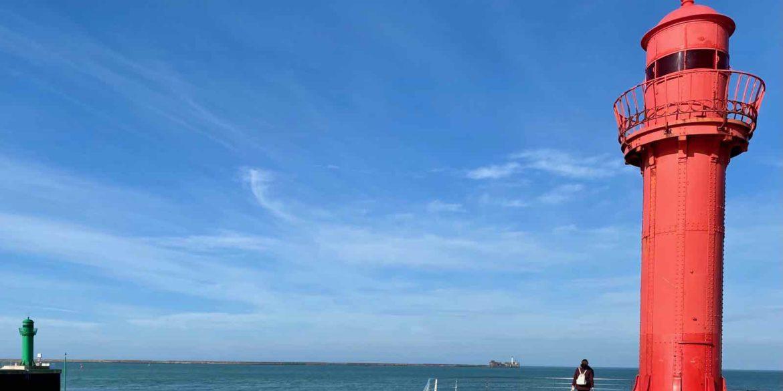 À Boulogne, la jetée du Phare rouge pour res-pi-rer !
