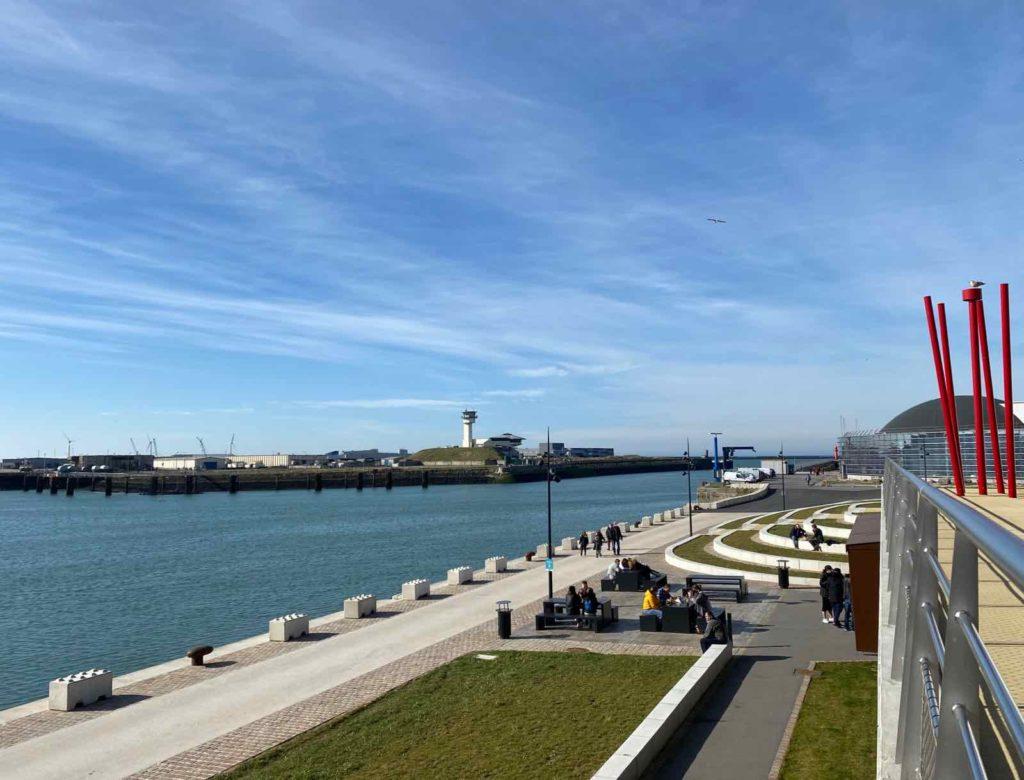 Boulogne-sur-Mer-quais-de-la-Liane-amenages-vus-de-haut