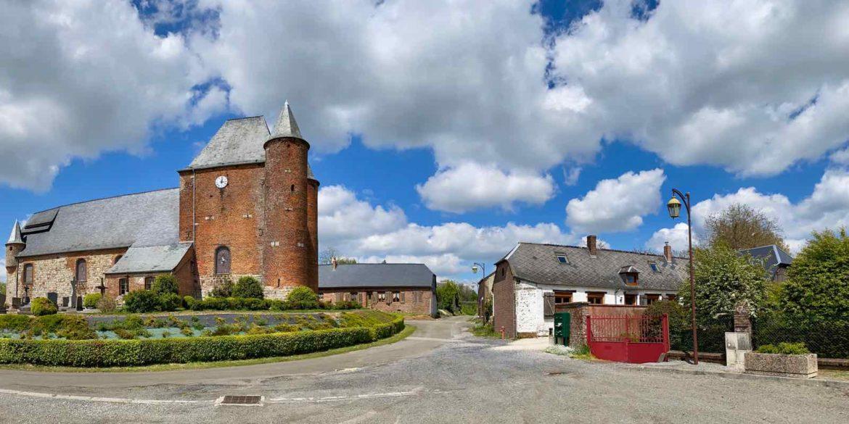 Dans la vallée de l'Oise, mes 10 églises fortifiées préférées