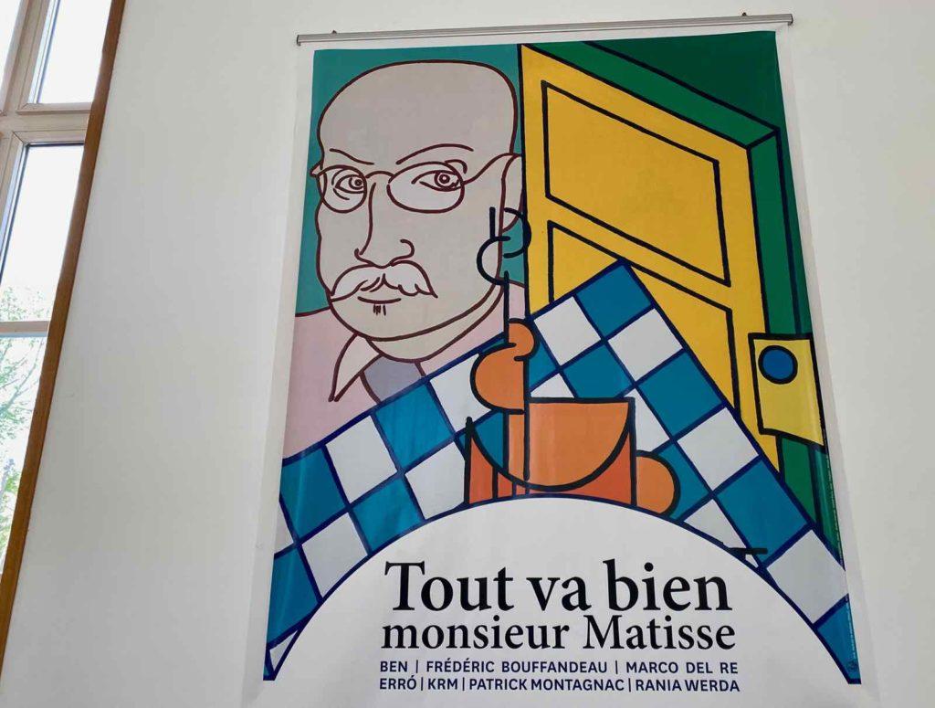 Affiche-expo-Tout-va-bien-monsieur-Matisse-musee-Matisse-Le-Cateau
