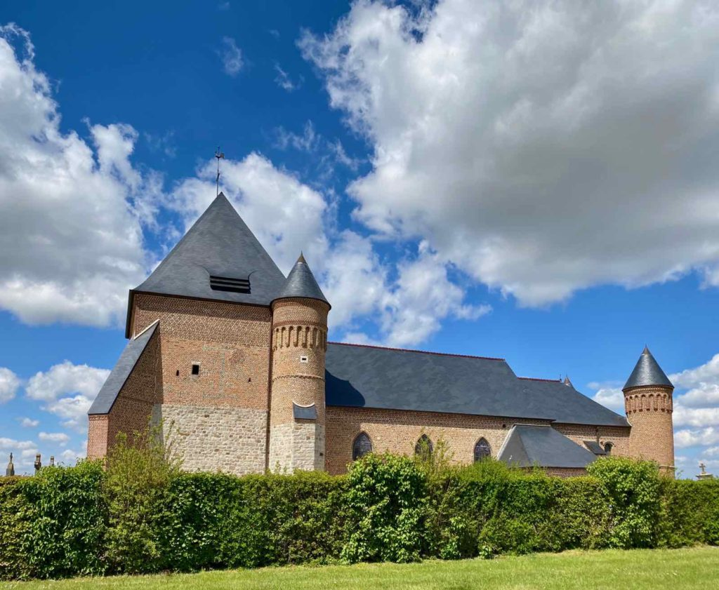 Eglises-fortifiees-vallee-de-l-Oise-Flavigny-le-Grand-et-Beaurain