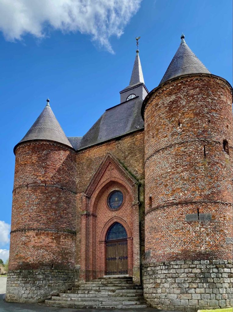 Eglises-fortifiees-vallee-de-l-Oise-Wimy-entree